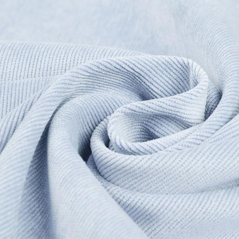 Plain Corduroy - Baby Blue - The Fabric Counter