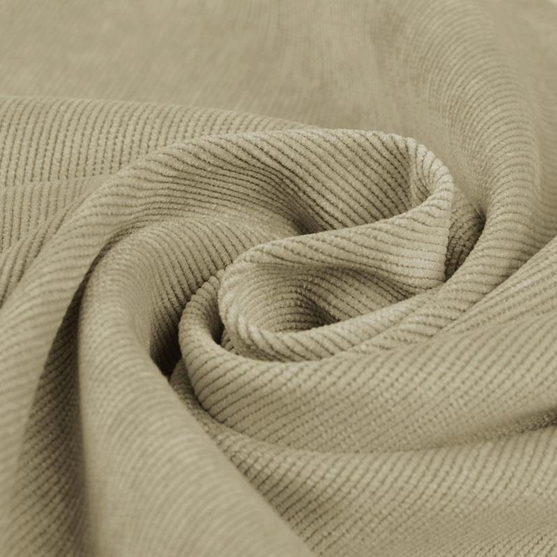 Plain Corduroy - Beige - The Fabric Counter
