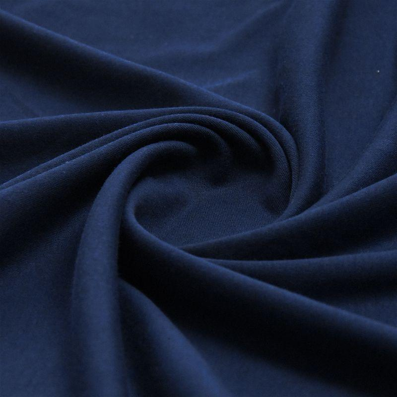 Plain Polycotton - Navy - The Fabric Counter