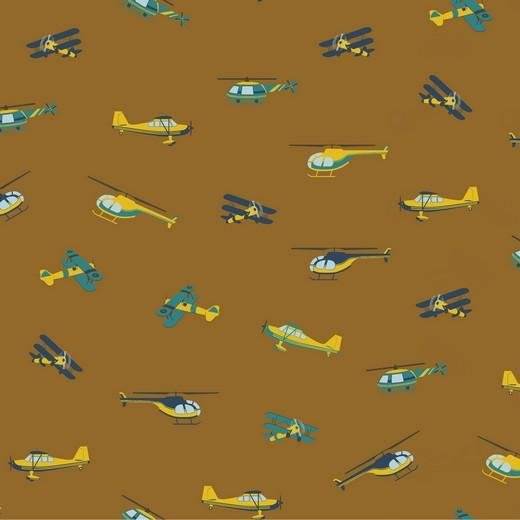 Plane Cotton Print - The Fabric Counter