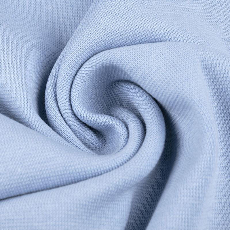 Ribbing / Cuff Fabric - Baby Blue - The Fabric Counter
