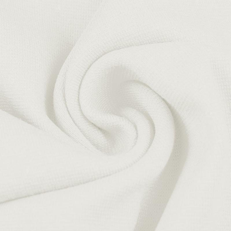 Ribbing / Cuff Fabric - Cream - The Fabric Counter