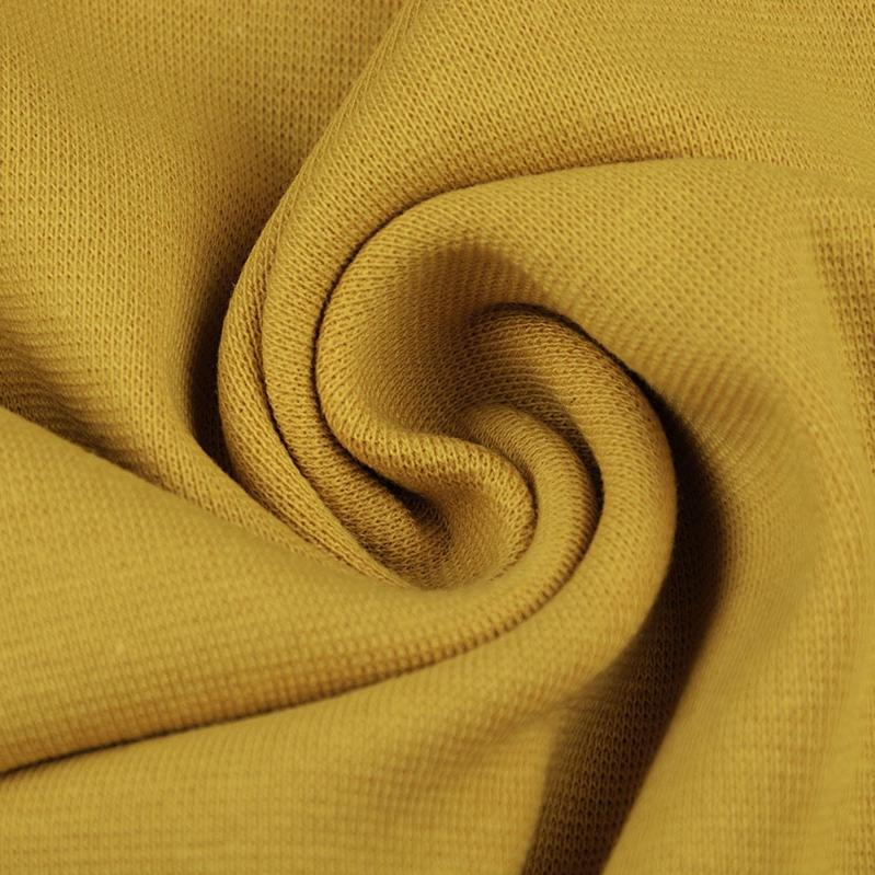 Ribbing / Cuff Fabric - Mustard - The Fabric Counter