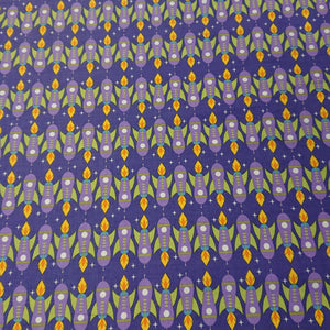 Rocket Cotton Print - The Fabric Counter