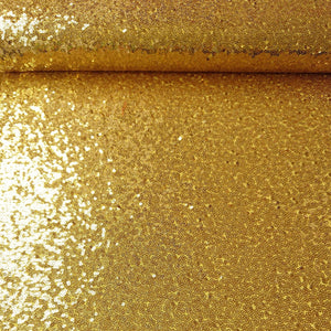 Sequins - Yellow Gold - The Fabric Counter