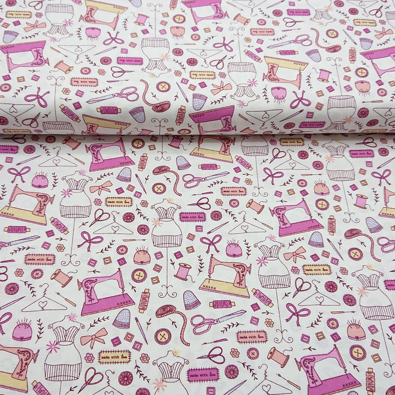 Sewing Cotton Print - The Fabric Counter