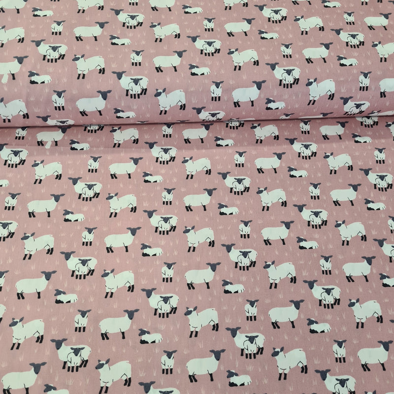Sheep Cotton Print - The Fabric Counter
