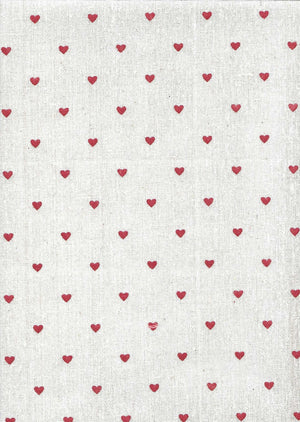 Small Red Heart - The Fabric Counter