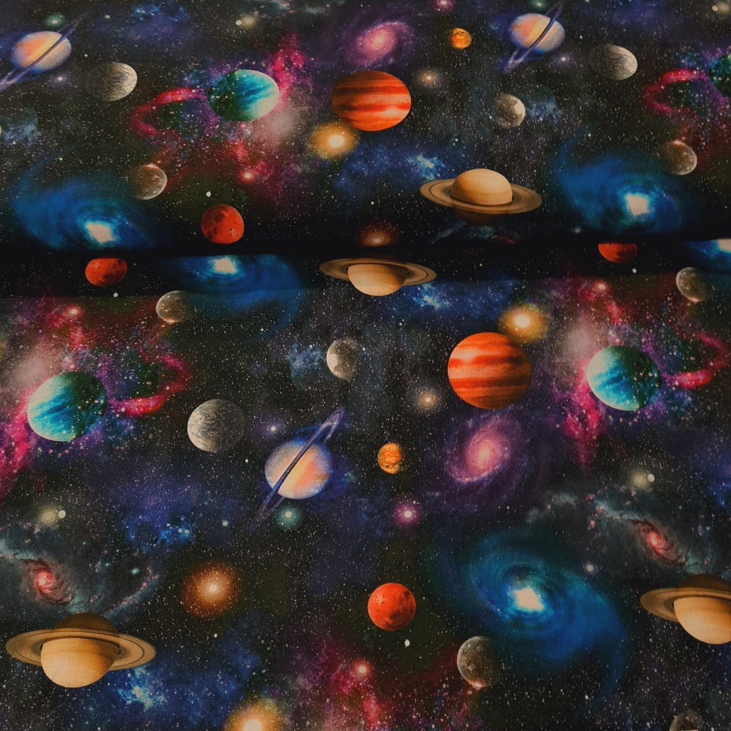 Space Digital Cotton Print - The Fabric Counter