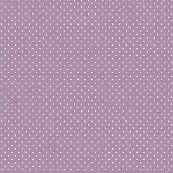 Spot Cotton Print - Lilac - The Fabric Counter