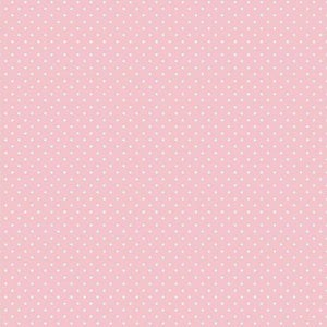 Spot Cotton Print - Pink - The Fabric Counter
