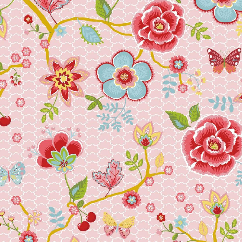 Springtime Floral - Cotton Print - The Fabric Counter