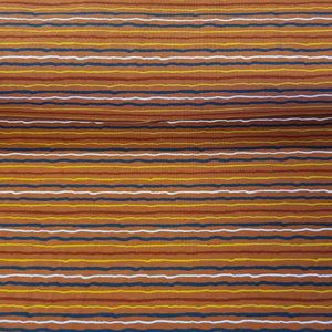 Squiggle Stripe - Jersey - The Fabric Counter