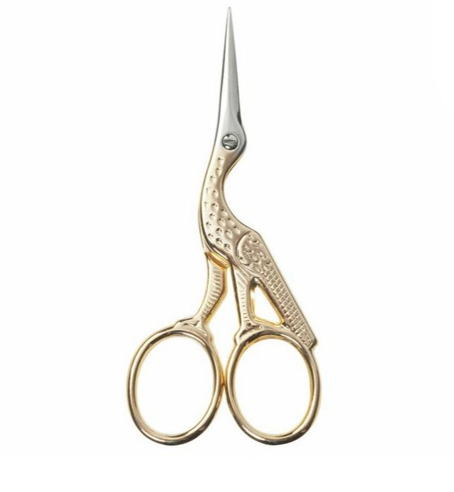 Stork Embroidery Scissors - The Fabric Counter