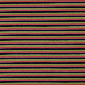 Striped Lurex - Cotton Jersey - The Fabric Counter