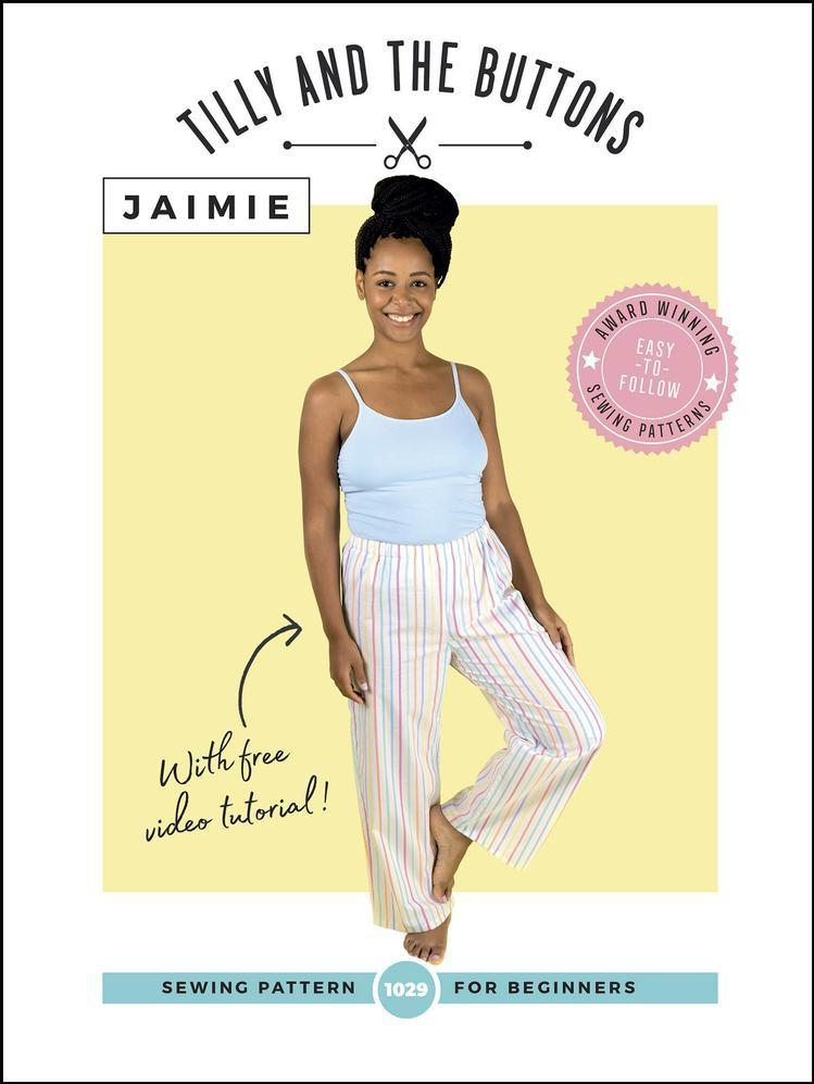 Tilly and The Buttons - Jaimie Pajamas - The Fabric Counter