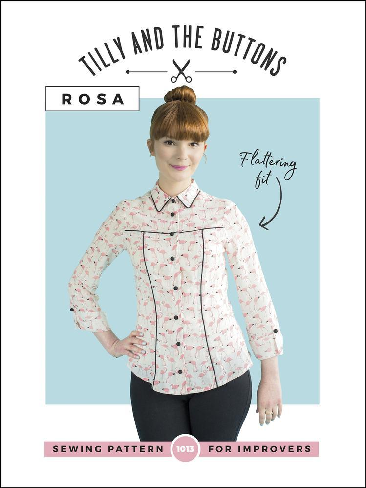 Tilly and The Buttons - Rosa - The Fabric Counter