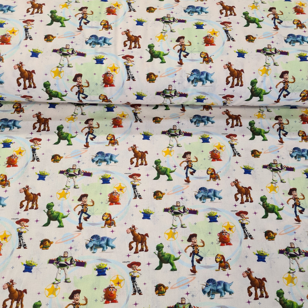 Toy Story - Digital Cotton Print - The Fabric Counter