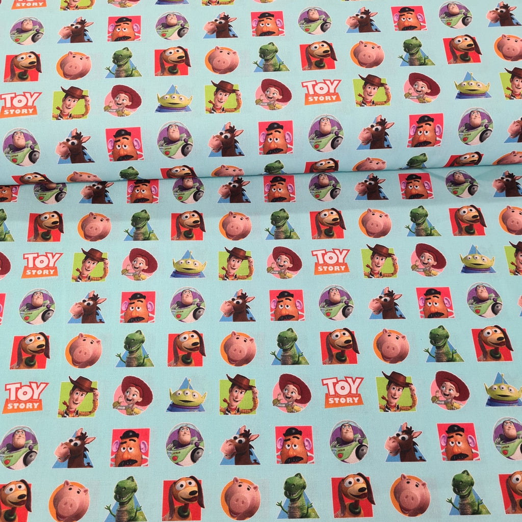 Toy Story Digital Cotton Print - The Fabric Counter