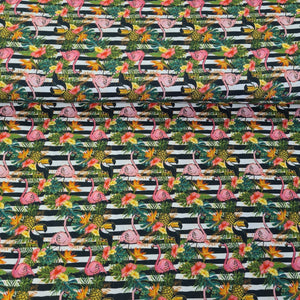 Tropical Digital Cotton Print - The Fabric Counter