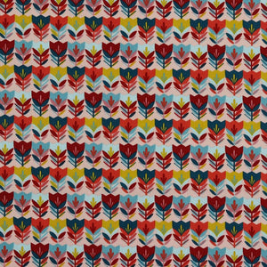 Tulips - Cotton Print - The Fabric Counter