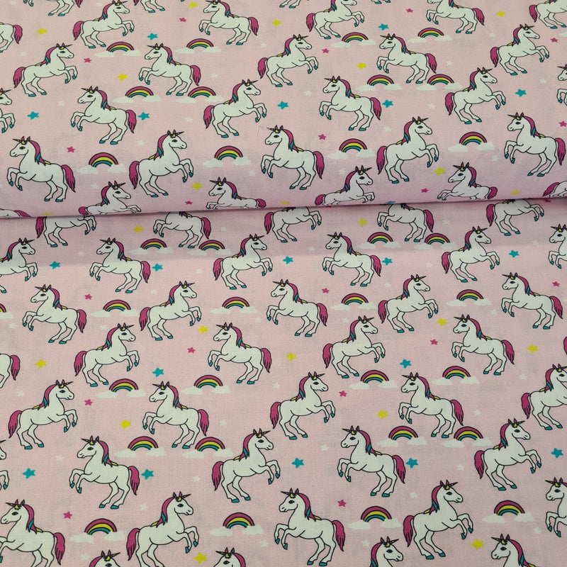 Unicorn Digital Cotton Print - The Fabric Counter