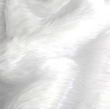 White Faux Fur - The Fabric Counter