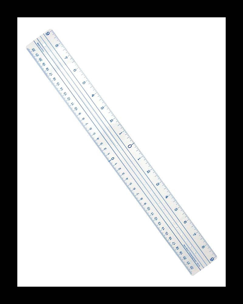 Clear Zero-Centering Ruler