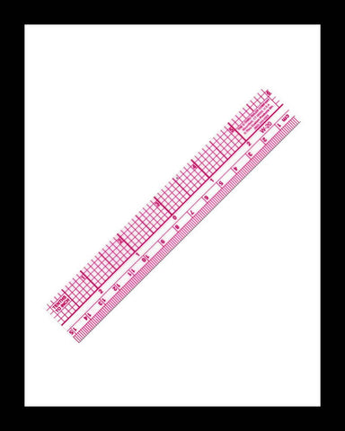 Clear Metric Graph Ruler