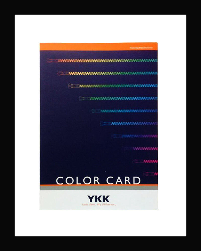 YKK® Color Card Book