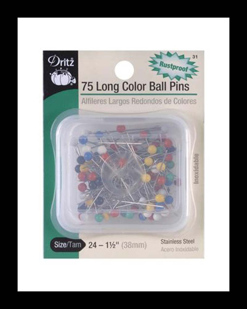 Color Ball Pins LONG