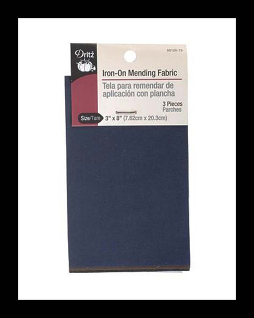 Iron-On Mending Fabric Assortment