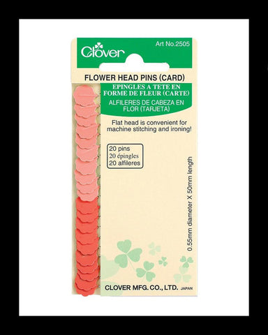 Flower Head Pins Card
