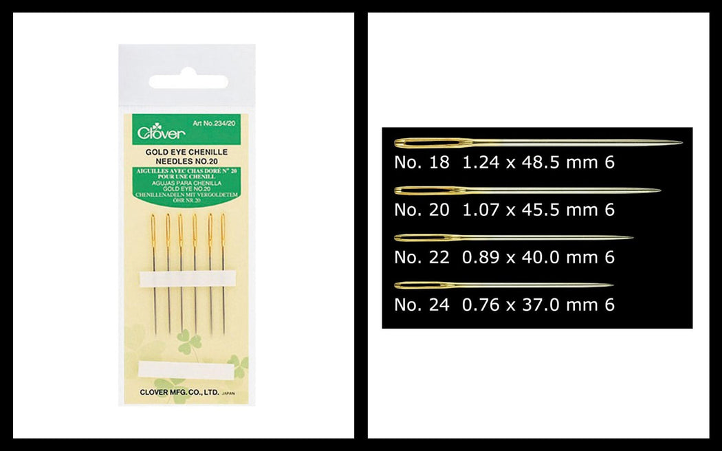 Gold Eye Chenille Needles