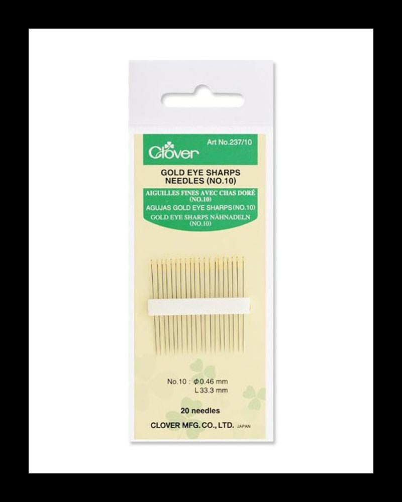 Gold Eye Sharps Needles