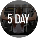 Time2Define FIVE DAY GYM based 6 Week Plan
