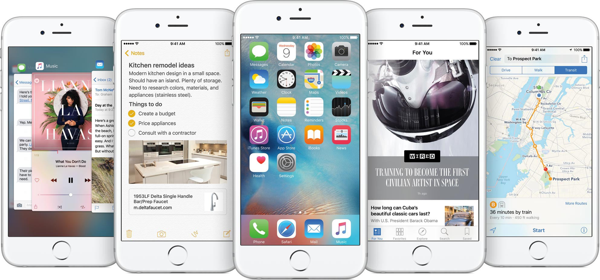 Make it new again with iOS 9