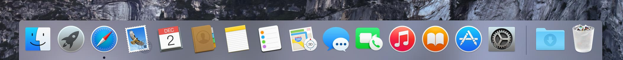 Finder not running in Dock