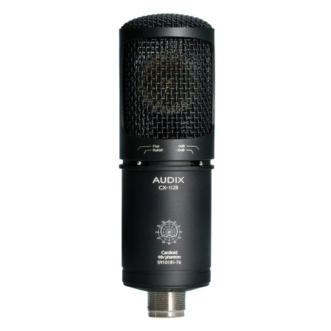 Audix CX212B Large Dual Diaphragm Multi Polar Pattern Condenser Microphone