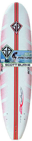 Scott Burke 8ft Softboard