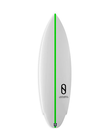 SLATER DESIGNS FLAT EARTH FCS 2 / GREEN STRINGER