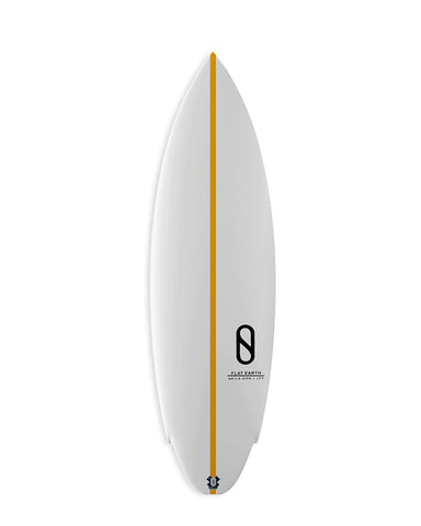 SLATER DESIGNS FLAT EARTH FCS 2 / ORANGE STRINGER