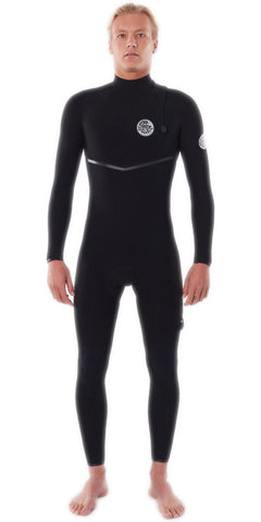 RIP CURL E BOMB 3/2 ZIP FREE WETSUIT WSMYRE