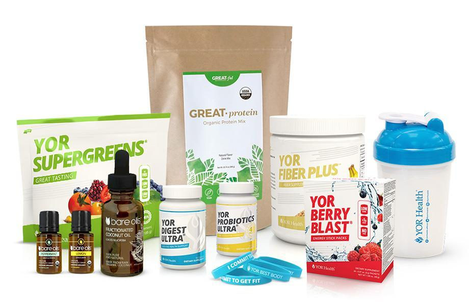 Go Green Starter Cleanse Set