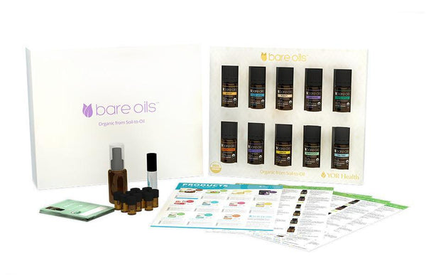 Bare Oils Living Organic Set