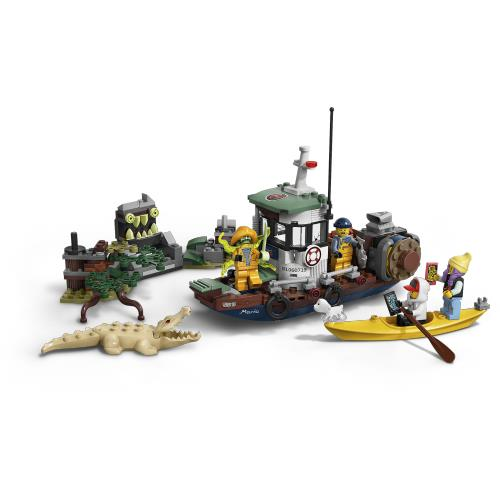 Lego Hidden Side Wrecked Shrimp Boat - Jouets LOL Toys