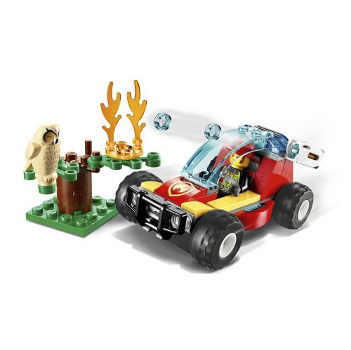 Lego City Forest Fire - 60247 - Jouets LOL Toys