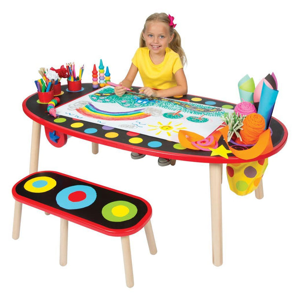 Alex Super Art Table With Paper - Jouets LOL Toys