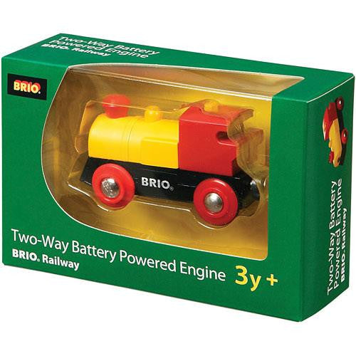 Brio Two Way Battery Engin Train - Jouets LOL Toys