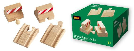 Brio Tracks Stop and Ramp - Jouets LOL Toys